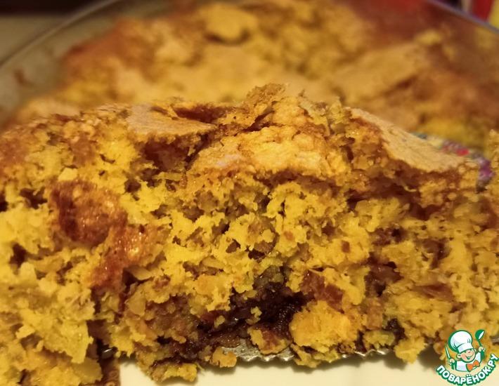 Рецепт: Апельсиново-миндальный десерт