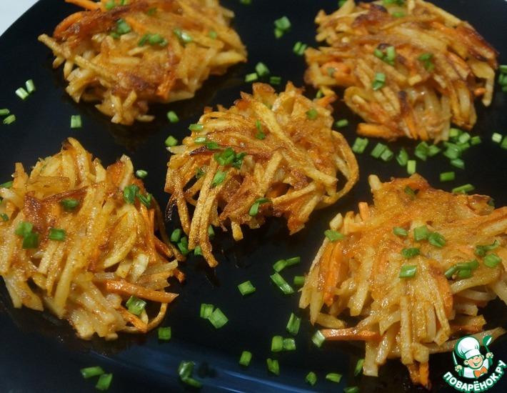 Рецепт: Картофельные ежики