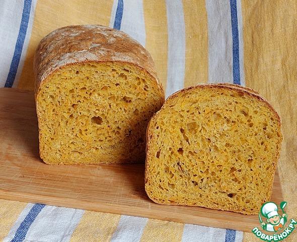 Простой тыквенный хлеб