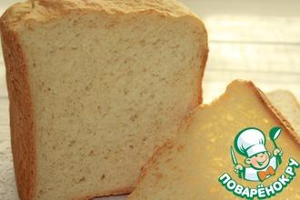 Рецепт: Молочно-кефирный хлеб в хлебопечке
