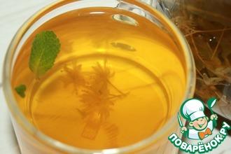 Рецепт: Чай с липовым цветом и мятой