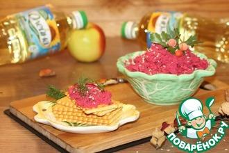 Рецепт: Паштет из горбуши с сыром, овощами