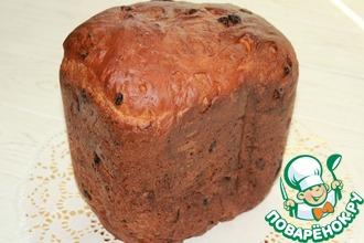 Рецепт: Сладкий хлеб Восточный базар в хлебопечке