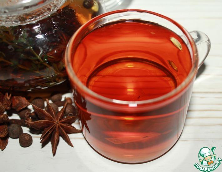 Рецепт: Чай с душистыми специями и травами