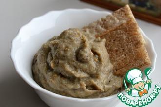 Рецепт: Баклажановый соус с йогуртом