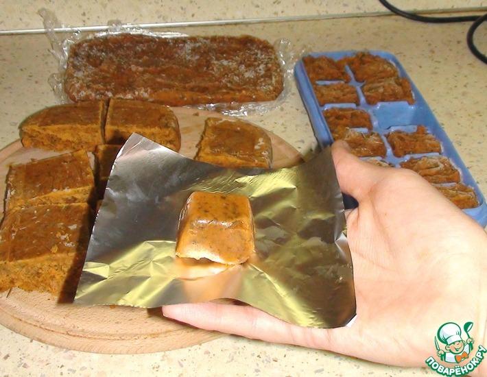 Рецепт: Овощные бульонные кубики