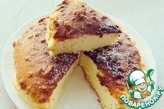 Рецепт: Йогуртовый пирог без муки, масла и сахара