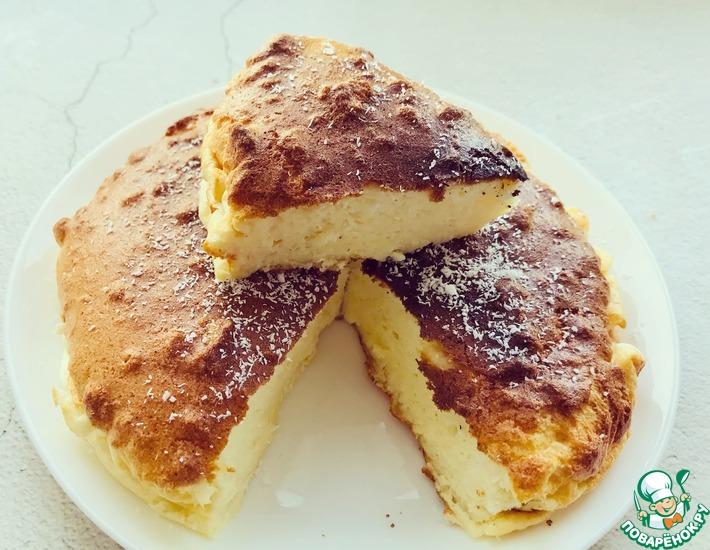 Рецепт: Йогуртовый пирог без муки, <span id=