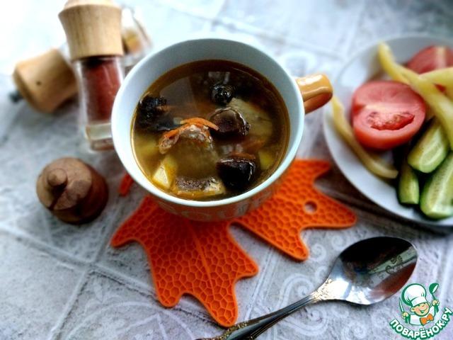 Суп рыбный по-царски из кефали