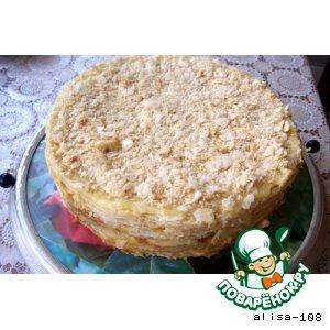 Рецепт: Торт Наполеон от моей бабушки