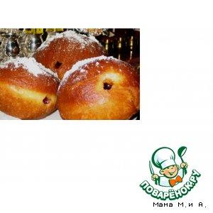 Рецепт: Пончики Берлинер
