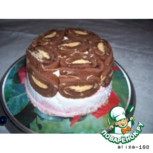 Рецепт: Торт на день рождения моей мамы