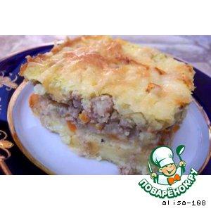 Рецепт: Запеканка картофельная