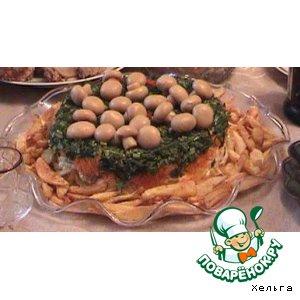 Рецепт: Салат «Лесное чудо»