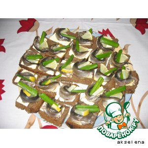"""Бутерброды """"Пульки"""""""