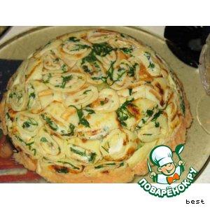 Рецепт: Салат Клумба