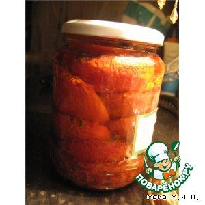 Помидоры, томленные в духовке в оливковом масле