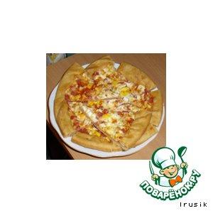 Рецепт: Пицца А-ля-ля