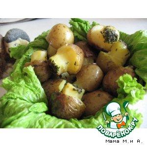 Рецепт: Грибы из картофеля