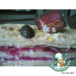 Рецепт: Мой торт Наполеон