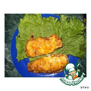 Рецепт: Лодочки из кабачков
