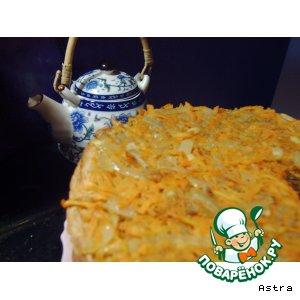 Рецепт: Печеночный тортик