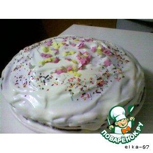 Рецепт: Торт Негр в пене