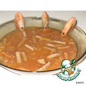 """Рыбный суп """"Испанский"""""""