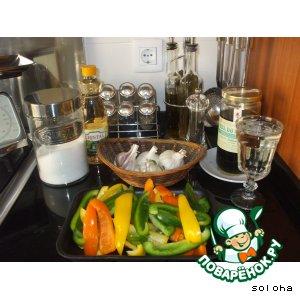 Рецепт: Перец маринованный