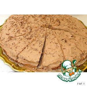 Рецепт: Шоколадный тортик