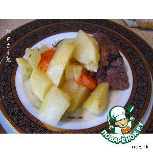 Рецепт Жаркое из баранины и картофеля