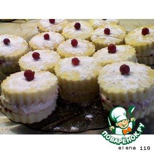 Рецепт: Пирожные Валентина