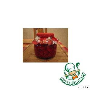 Рецепт: Маринованная капуста с виноградом и свеклой