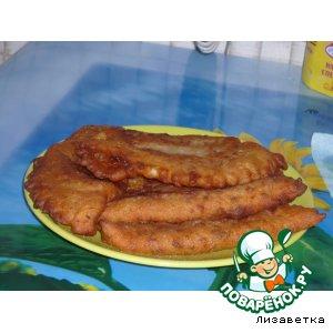 Рецепт: Чебуреки с повидлом