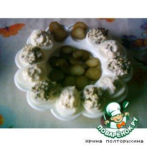 Рецепт: Фаршированные яйца