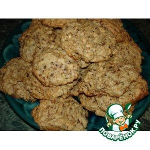 Кофейное печенье с фундуком