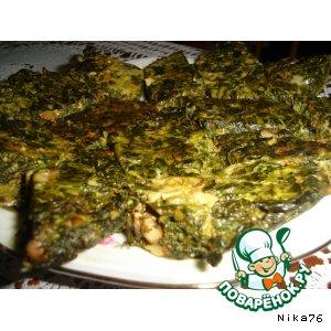 Рецепт: Кюкю из зелени