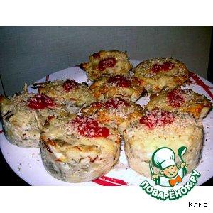 Рецепт: Баклажановые кексы