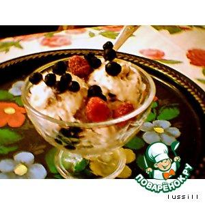 Рецепт: Мороженое Щербет