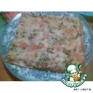 Рецепт: Пицца третьего дня