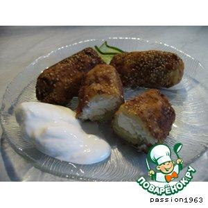 Рецепт: Картофельные крокеты с сыром