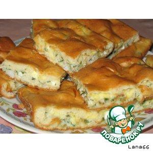 Рецепт: Пирог Нежность
