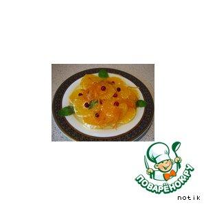 Рецепт: Апельсины в сиропе