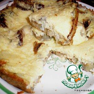 Рецепт: Кабачки под сыром