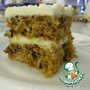 "Рецепт: Торт ""Морковный"""