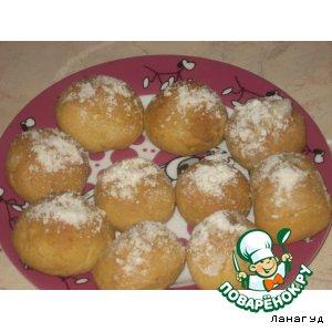 Рецепт: Ореховые булочки