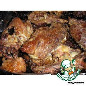 Рецепт: Курица в майонезе