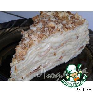 Рецепт: Торт Наполеон мокрый