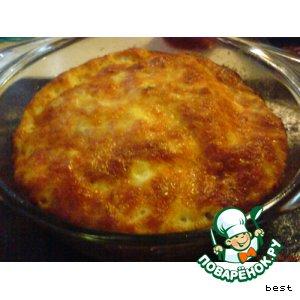Рецепт Рыбно-сырное суфле