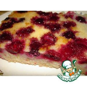 Рецепт: Пирог с ягодами